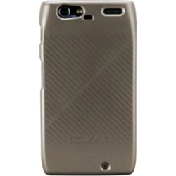 Body Glove Fade Snap-On Case for Motorola Droid RAZR (Metallic Pewter/Flat Black Striped) - 9253401 found on MODAPINS from Unlimited Cellular for USD $12.79