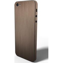 SlickWraps - Metal Series Brushed Wrap for iPhone 5 - Copper