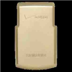 Samsung Products Extended Door Cover for Samsung SCH-U740 (Gold) - AACU740DGZBSTD found on Bargain Bro India from Unlimited Cellular for $5.99