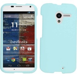 Unlimited Cellular Deluxe Snap-On Case for Motorola X Phone (Fluorescent Light Blue) found on Bargain Bro India from Unlimited Cellular for $5.99