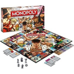 Toy - Board Game - Street Fighter - Collector's Edition - Monopoly (Capcom)
