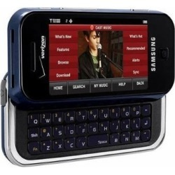 Samsung Glyde SCH-U490 Cell Phone, Bluetooth, GPS, Camera, QWERTY, for Verizon