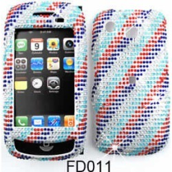 Full Diamond Crystal, Rainbow Stripes on Baby Blue found on Bargain Bro Philippines from Unlimited Cellular for $5.99