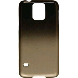 Cell Armor Hybrid Fit-on Case Cover Samsung Galaxy S5 (Black and Metallic Gray) - SAMGS5-PC-A005-ADG