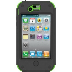 Trident - KRAKEN II AMS Case for iPhone 4/4S + Holster - Green