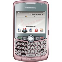 Pink BlackBerry Curve 8330 PDA Cell Phone, Bluetooth, Camera, for Verizon