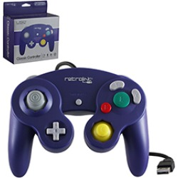 PC - Controller - Wired - Gamecube Style - USB Controller for PC & Mac - Purple (Retrolink) found on GamingScroll.com from Unlimited Cellular for $18.09