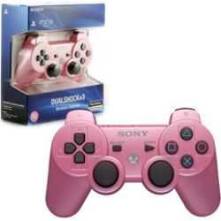 PS3 - Controller - Wireless - DualShock 3 - New - Pink (Sony)