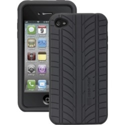 Case-Mate Tire Tread Silicone Case for iPhone 4 - Black