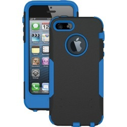 Trident - Aegis Case for Apple iPhone 5/5S Cell Phones - Black/Blue