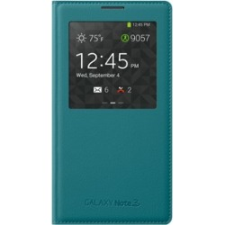 Samsung S-View Flip Cover for Samsung Galaxy Note 3 - Turquoise found on Bargain Bro India from Unlimited Cellular for $50.19