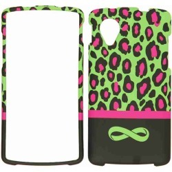 Unlimited Cellular Snap-On Case for LG Nexus 5 (Green Leopard with Infinity Logo) found on Bargain Bro India from Unlimited Cellular for $5.99