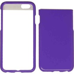 Apple - Snap on Protector Case for APPLE IPHONE 6 plus - Pearl Darl Purple found on Bargain Bro India from Unlimited Cellular for $5.99