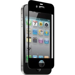 zNitro Nitro Glass Tempered Glass Screen Protector for Apple iPhone 4 / 4S (Black)