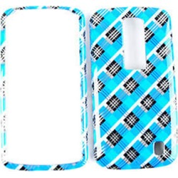 Unlimited Cellular Snap-On Case for LG Nitro HD (Transparent Design, Blue/Black Plaid) found on Bargain Bro India from Unlimited Cellular for $5.99