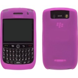 Hot Pink Silicone Gel Wrap Case for BlackBerry 8900 found on Bargain Bro Philippines from Unlimited Cellular for $7.89
