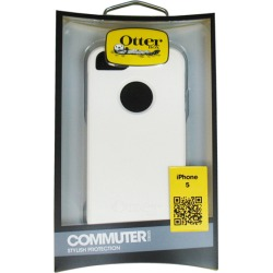 OtterBox - Commuter Case for Apple iPhone 5s/5 Cell Phones - Glacier