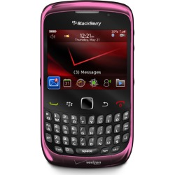 Pink - BlackBerry Curve 3G 9330 Phone 2 megapixel camera with video capture, GPS, Wi-Fi for Verizon