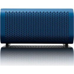Braven 440 Portable Bluetooth Speaker Mobile Device Charger Speakerphone (Blue/Black End Caps)