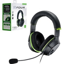 Turtle Beach - Ear Force XO Four Wired Headset for Xbox One - Black