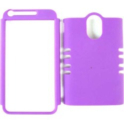 Unlimited Cellular Rocker Snap-On Case for Samsung Galaxy S2 Epic 4G Touch (Fluorescent Solid Purple) found on Bargain Bro India from Unlimited Cellular for $5.99