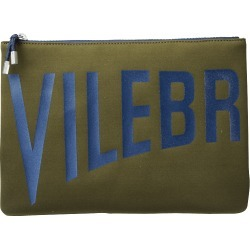 Zipped Beach Bag Solid - Clutch Bag - Pool - Brown - Size OSFA - Vilebrequin found on Bargain Bro UK from Vilebrequin Europe