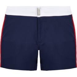 Men Flat Belt Stretch Swimwear Tricolor - Swimming Trunk - Merle - Blue - Size XS - Vilebrequin found on Bargain Bro UK from Vilebrequin Europe