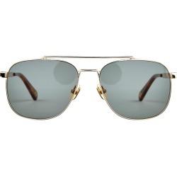 Unisex Sunglasses Khaki Mono Auto - Sunglasses - Auto - Yellow - Size OSFA - Vilebrequin found on Bargain Bro from Vilebrequin Europe for £176