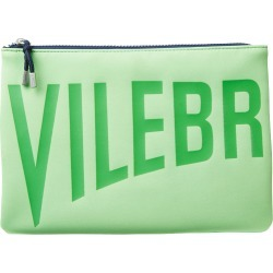 Zipped Beach Bag Solid - Clutch Bag - Pool - Green - Size OSFA - Vilebrequin found on Bargain Bro UK from Vilebrequin Europe