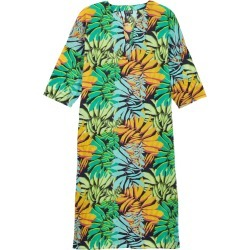 Women Cotton Voile Long Solid Dress Jungle - Cover-up - Fare - Blue - Size M - Vilebrequin found on Bargain Bro UK from Vilebrequin Europe