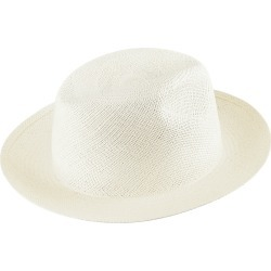 Unisex Natural Straw Panama Hat Solid - Chp - Charming - Beige - Size L - Vilebrequin found on Bargain Bro UK from Vilebrequin Europe