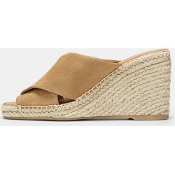 Gaelan Suede Wedge Sandal found on MODAPINS from Vince for USD $250.00