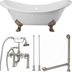 Randolph Morris Clawfoot Tub TUBSET22BNBN BN Feet and Fixtures found on Bargain Bro India from vintage tub & bath for $2104.10