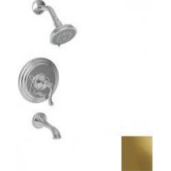 Newport Brass Amisa Pressure Balanced Tub & Shower Trim Set 3-982BP-03N Uncoated Polished Brass found on Bargain Bro from vintage tub & bath for USD $585.20