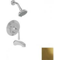 Newport Brass Bevelle Pressure Balanced Tub & Shower Trim Set 3-1742BP-01 Forever Brass - PVD found on Bargain Bro from vintage tub & bath for USD $659.15