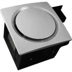 Aero Pure 110 CFM Super Quiet Single Speed Bath Fan SBF 110 G6 W White
