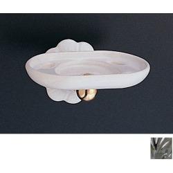 Strom Plumbing Fluted Porcelain Toothbrush Holder P0509C Chrome