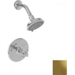 Newport Brass Virginia Balanced Pressure Shower Trim Set 3-1684BP/03N Uncoated Polished Brass found on Bargain Bro from vintage tub & bath for USD $402.72