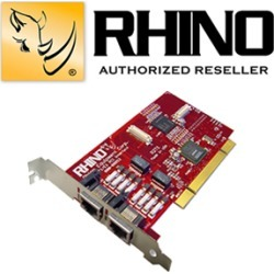 Rhino R2T1 2T1 PCI Card found on Bargain Bro Philippines from voipsupply.com for $649.00