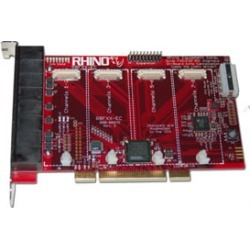 Rhino Equipment PCI Telephony Card - 4 FXO - (R8FXX-EC-02) found on Bargain Bro Philippines from voipsupply.com for $520.00