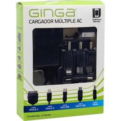 Cargador Múltiple Ginga Negro con 5 Puntas found on Bargain Bro India from walmartdirecto.mx for $7.53