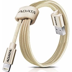 Cable USB A Apple Lightning 1MT Dorado Adata AMFIAL-100CMK-CGD found on Bargain Bro India from walmartdirecto.mx for $14.37