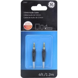 Cable de audio General Electric 3.5mm 1 pza found on Bargain Bro India from walmartdirecto.mx for $4.49