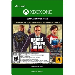 Grand Theft Auto V Xbox One Criminal Enterprise Starter Pack Digital