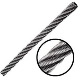 Cable de Acero Galvanizado en Rollo 7X7 5/32 y 300 M. OBI 213525 found on Bargain Bro India from walmartdirecto.mx for $264.79