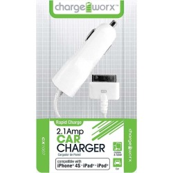 Cargador para Auto Charge Worx para iPhone 4S Blanco found on Bargain Bro India from walmartdirecto.mx for $5.70