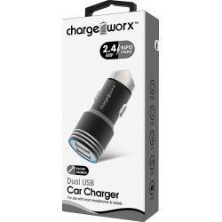Cargador para Auto Dual Charge Worx CX3041BK 2.4V Negro found on Bargain Bro India from walmartdirecto.mx for $8.29