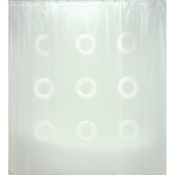 Cortina De Baño Namaro Design Blanco found on Bargain Bro India from walmartdirecto.mx for $23.64