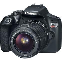 Cámara Fotográfica Digital Canon EOS Rebel T6, 18MP