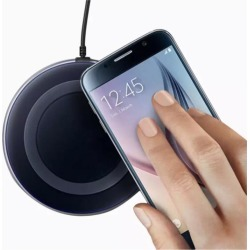 Cargador Inalambrico Qi Iphone 8 X Galaxy S6 S7 S8 Note - Negro QI GADGETSMX62718 found on Bargain Bro India from walmartdirecto.mx for $20.14